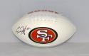 Carlos Hyde Autographed San Francisco 49ers Logo Football- JSA W Auth