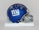 Michael Strahan Autographed New York Giants Mini Helmet W/ HOF- JSA W Auth