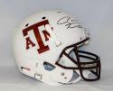 Ryan Tannehill Autographed F/S Texas A&M White Helmet- JSA W Authenticated