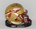 Chris Weinke Autographed Seminoles Schutt Mini Helmet W/ Heisman- JSA W Auth