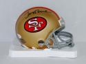 Jerry Rice Autographed San Francisco 49ers Mini Helmet- JSA W Auth