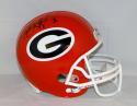 Matthew Stafford Autographed F/S Georgia Bulldogs Helmet- JSA Witnessed Auth