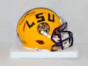 Odell Beckham Autographed LSU Tigers Speed Mini Helmet- JSA Authenticated