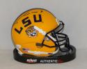 Tyrann Mathieu Autographed LSU Tigers Schutt Mini Helmet- JSA W Auth