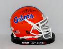 Steve Spurrier Autographed Florida Gators Schutt Mini Helmet- JSA Authenticated