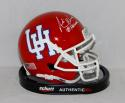 Andre Ware Autographed University of Houston Cougars Mini Helmet W/ Heisman- JSA W Auth