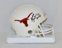 Ricky Williams Autographed Texas Longhorns Mini Helmet W/ HT- JSA W Authenticated