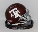 Dat Nguyen Autographed Texas A&M Aggies Mini Helmet W/ Gig 'Em- JSA W Authenticated
