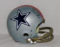 Bob Lilly Autographed Dallas Cowboys Full Size 76 TK Helmet W/ Mr. Cowboy- JSA W Auth