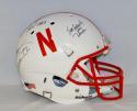 Nebraska Heisman Winners Autographed F/S Cornhuskers White Helmet- JSA W Auth
