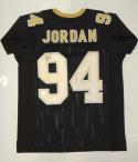 Cameron Jordan Autographed Black Pro Style Jersey- JSA W Authenticated