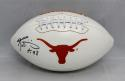 Ricky Williams Autographed Texas Longhorns Logo Football W/ HT- JSA W Auth