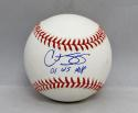 Curt Schilling Autographed Rawlings OML Baseball W/ WS MVP- JSA W Authenticated