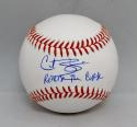 Curt Schilling Autographed Rawlings OML Baseball W/ Reverse The Curse- JSA W Auth