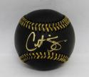Curt Schilling Autographed Rawlings OML Black Baseball- JSA Witnessed Auth