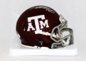 Von Miller Autographed Texas A&M Maroon Speed Mini Helmet- JSA Authenticated