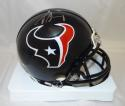 Jadeveon Clowney Autographed Houston Texans Mini Helmet- JSA Witnessed Auth