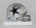 Michael Irvin Autographed Dallas Cowboys Mini Helmet- JSA W Authenticated