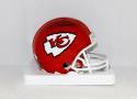 Will Shields Autographed Kansas City Chiefs Mini Helmet W/ HOF- JSA Witnessed Auth