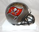 Warren Sapp Autographed *Blk Tampa Bay Buccaneers Grey Mini Helmet- Steiner Auth