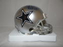 Rayfield Wright Autographed Dallas Cowboys Mini Helmet W/ HOF- JSA W Auth