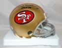 Hugh McElhenny Autographed San Francisco 49ers Mini Helmet W/ HOF- JSA W Auth