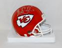Alex Smith Autographed Kansas City Chiefs Mini Helmet- JSA Witnessed Auth