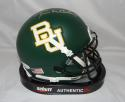 Terrance Williams Autographed (*G) Baylor Bears Green Mini Helmet- JSA W Auth