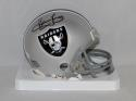 Howie Long Autographed Oakland Raiders Mini Helmet- JSA W Authenticated