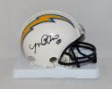 Manti Te'o Autographed San Diego Chargers Mini Helmet- JSA W Authenticated