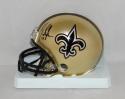 Mark Ingram Autographed *Right New Orleans Saints Mini Helmet- JSA W Auth