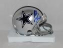 Russell Maryland Autographed *Blue Dallas Cowboys Mini Helmet- JSA Witnessed Auth
