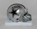 Emmitt Smith Autographed *Black Dallas Cowboys Mini Helmet- JSA Witnessed Auth