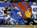 Odell Beckham Autographed 16x20 One Hand Catch Against Cowboys Photo- JSA Auth