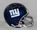 Michael Strahan Autographed NY Giants F/S ProLine Helmet W/ SB Champs- JSA W Auth