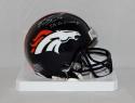 Emmanuel Sanders Autographed Broncos Mini Helmet W/ SB 50 Champ- JSA W Auth