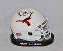 Vince Young Autographed Texas Longhorns Schutt Mini Helmet- JSA W Authenticated