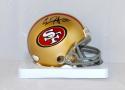 Carlos Hyde Autographed San Francisco 49ers Mini Helmet- JSA W Authenticated