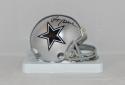 Roger Staubach Autographed Dallas Cowboys Mini Helmet- JSA W Auth