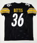 Jerome Bettis Autographed Black Pro Style Jersey- JSA Witnessed Authenticated