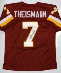 Joe Theismann Autographed Maroon Pro Style Jersey W/ MVP- JSA W Authenticated