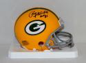 Paul Hornung Autographed Green Bay Packers Mini Helmet W/ HOF and JSA W Auth