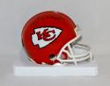 Joe Montana Autographed Kansas City Chiefs Mini Helmet- JSA Witness Auth