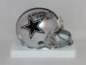 Chuck Howley Autographed *Blk Dallas Cowboys Mini Helmet W/ SB MVP- JSA W Auth