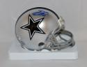 Emmitt Smith Autographed *Blue Dallas Cowboys Mini Helmet- JSA W Auth
