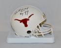 Earl Campbell Autographed Texas Longhorns Riddell Mini Helmet W/ HT- JSA W Auth