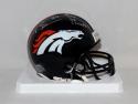 Brandon Marshall Autographed Broncos Mini Helmet W/ SB 50 Champs- JSA W Auth