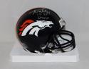 Aqib Talib Autographed Denver Broncos Mini Helmet With SB 50 Champs- JSA W Auth