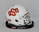 Thurman Thomas Autographed Oklahoma State Schutt TB Mini Helmet- JSA W Auth