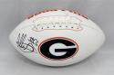 Todd Gurley Autographed Georgia Bulldogs Logo Football- JSA W Authenticated